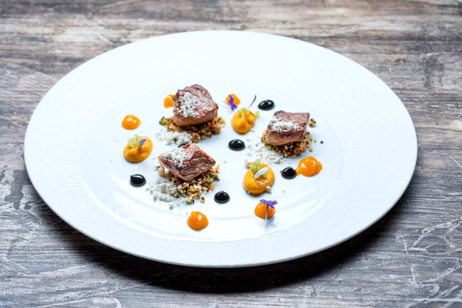 PATANEGRA57-Presa ibérica con boniato y quinoa real