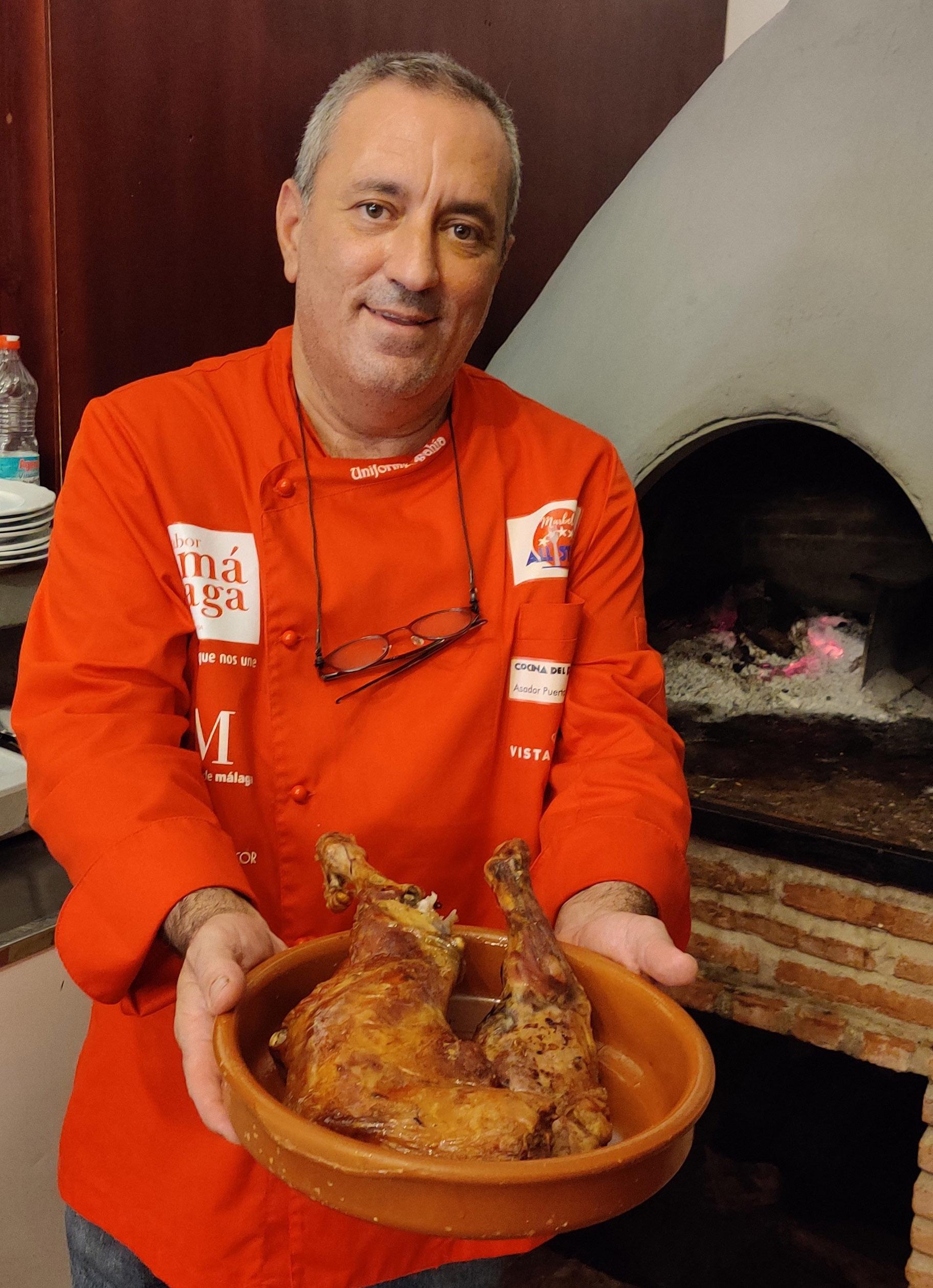 Chef Juan Torremocha, Asador Puerta de Málaga