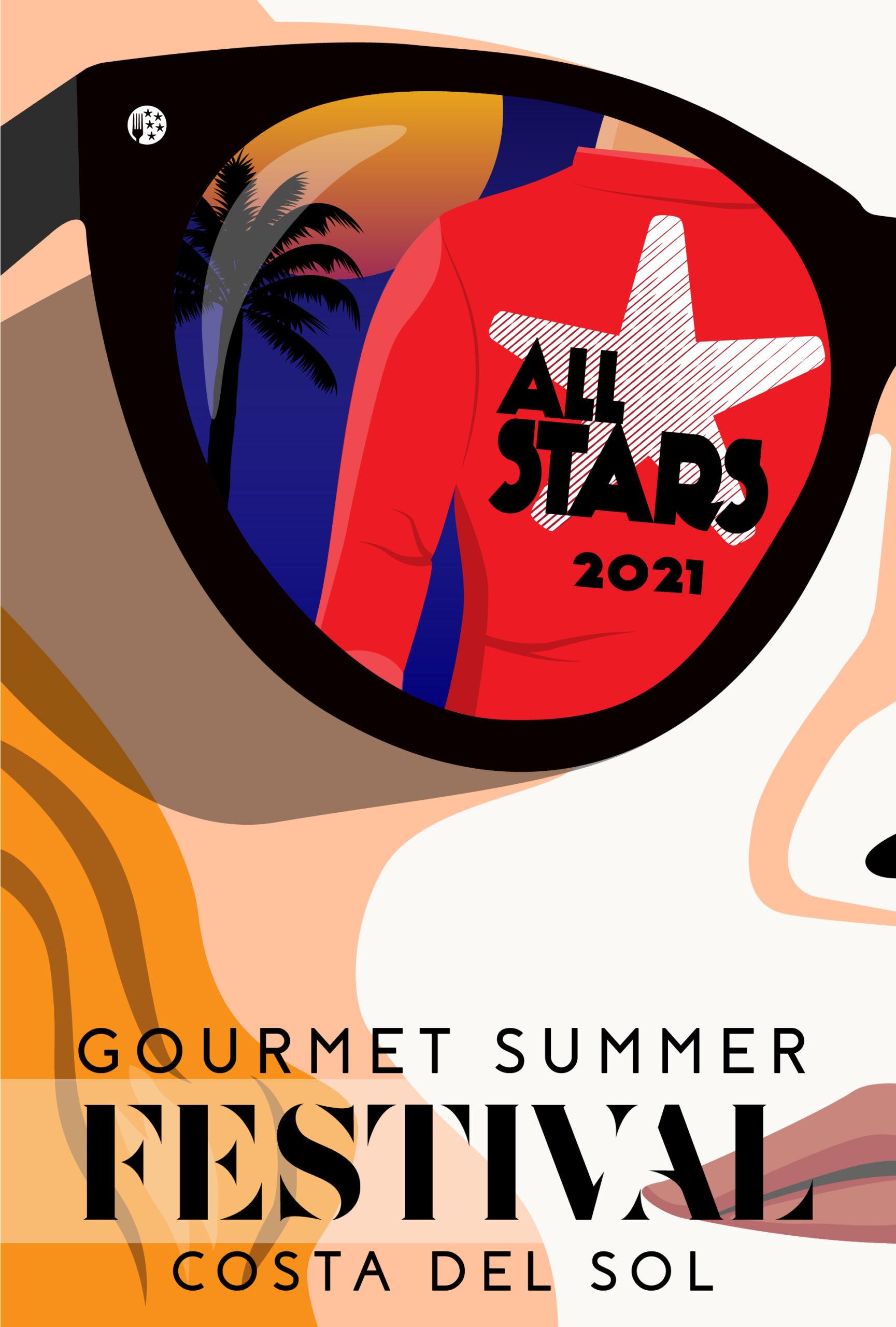 Llega All Stars 2021 Gourmet Summer Festival